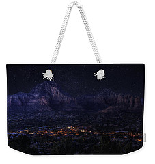 Sedona By Night Weekender Tote Bag