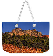 Weekender Tote Bag featuring the photograph Sedona Vista 49 by Mark Myhaver