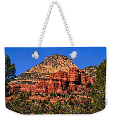 Weekender Tote Bag featuring the photograph Sedona Vista 51 by Mark Myhaver