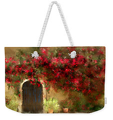 The Bougainvillea's Of Sedona Weekender Tote Bag by Colleen Taylor