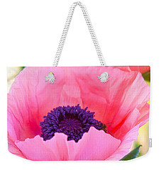 Seductive Poppy Weekender Tote Bag by Roselynne Broussard