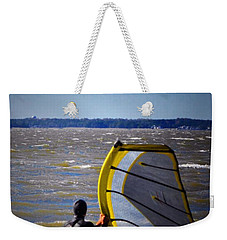 See Ya Roun Weekender Tote Bag by Robert McCubbin