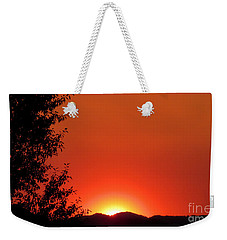 Weekender Tote Bag featuring the photograph See You Tomorrow by Janice Westerberg