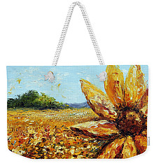 Seeing The Sun Weekender Tote Bag
