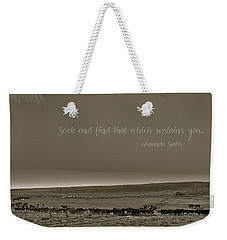 Seek And Find Weekender Tote Bag