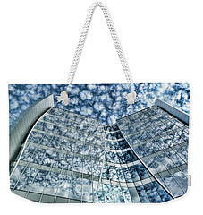Weekender Tote Bag featuring the photograph Seidman Cancer Center - Cleveland Ohio - 1 by Mark Madere