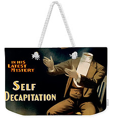 Self Decapitation Weekender Tote Bag