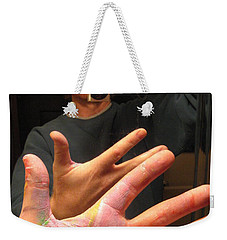 Self Photo Portrait Weekender Tote Bag