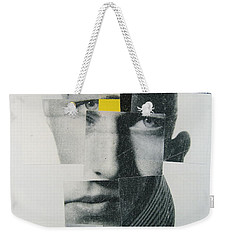 Weekender Tote Bag featuring the painting When I Was Young  I Was So Much Older Then - Im Younger Then That Now by Cliff Spohn