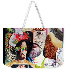 Selfportrait With The Critical Eye Weekender Tote Bag by Otto Rapp
