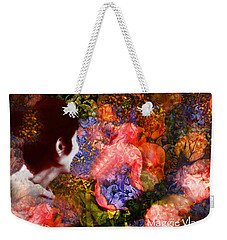 Girl Looking Toward Future Weekender Tote Bag