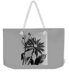 Semi-double Dwarf Pigmy Dahlia Flower Weekender Tote Bag