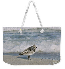 Semiplated Sandpiper Weekender Tote Bag