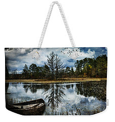 Seney And The Rowboat Weekender Tote Bag