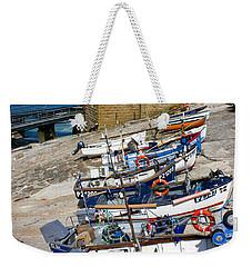 Sennen Cove Fishing Fleet Weekender Tote Bag by Terri Waters