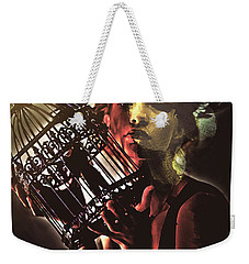 Sentence Portrait Weekender Tote Bag by Galen Valle