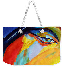 Weekender Tote Bag featuring the painting Sentiment by Helena Wierzbicki