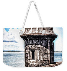 Sentry Box In El Morro Hdr Weekender Tote Bag