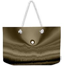 Sepia Sunrise Weekender Tote Bag