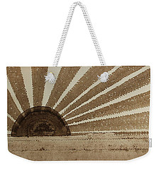 Sepia Sunset Original Painting Weekender Tote Bag