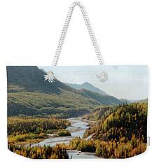 September Morning In Alaska Weekender Tote Bag