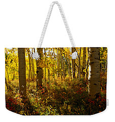 September Scene Weekender Tote Bag by Jeremy Rhoades