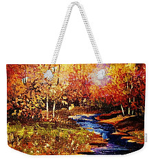 The Brilliance Of Autumn Weekender Tote Bag