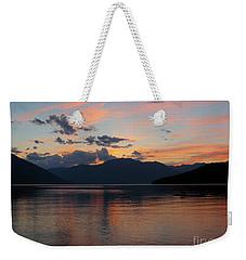 September Sunset Weekender Tote Bag by Leone Lund
