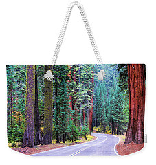Sequoia Hwy Weekender Tote Bag