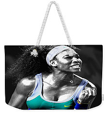 Serena Williams Ace Weekender Tote Bag by Brian Reaves
