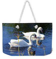 Weekender Tote Bag featuring the photograph Serenade Of  Love by Lingfai Leung