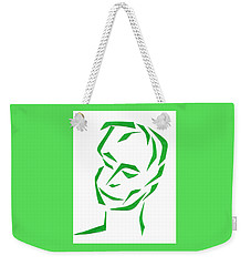 Serene Face Weekender Tote Bag