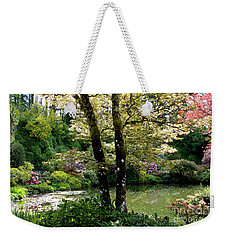 Serene Garden Retreat Weekender Tote Bag