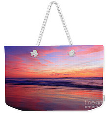 Serene Oceanside Glow Weekender Tote Bag
