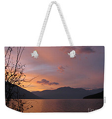 Serenity Weekender Tote Bag by Leone Lund