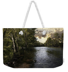 Weekender Tote Bag featuring the photograph Serenity by Lynn Geoffroy