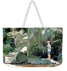 Serious Fishin' Weekender Tote Bag