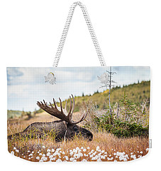Serious Lady-watching Weekender Tote Bag