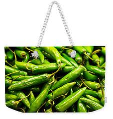 Serrano Peppers Weekender Tote Bag