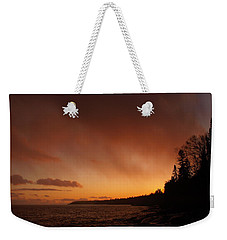 Set Fire To The Rain Weekender Tote Bag by James Peterson