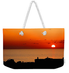 Set Into The Sea Weekender Tote Bag