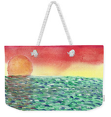 Setting Sea Weekender Tote Bag by John Williams