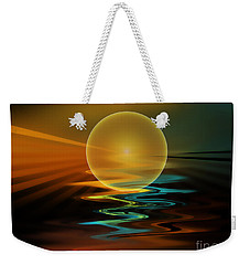 Setting Sun Weekender Tote Bag by Klara Acel
