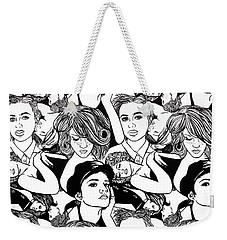 Seven Beauties Weekender Tote Bag
