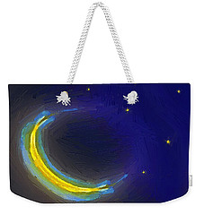 Seven Stars And The Moon Weekender Tote Bag