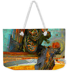 Weekender Tote Bag featuring the photograph Severed  by Christiane Hellner-OBrien