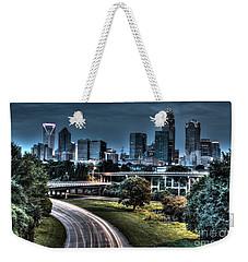 Sexy Skyline Of Charlotte  Weekender Tote Bag