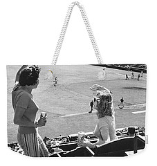 Sf Giants Fans Cheer Weekender Tote Bag