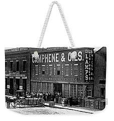 Sf Pacific Oil And Camphene Work Weekender Tote Bag