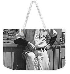 Sf Seals Manager Lefty O'doul Weekender Tote Bag by Underwood Archives